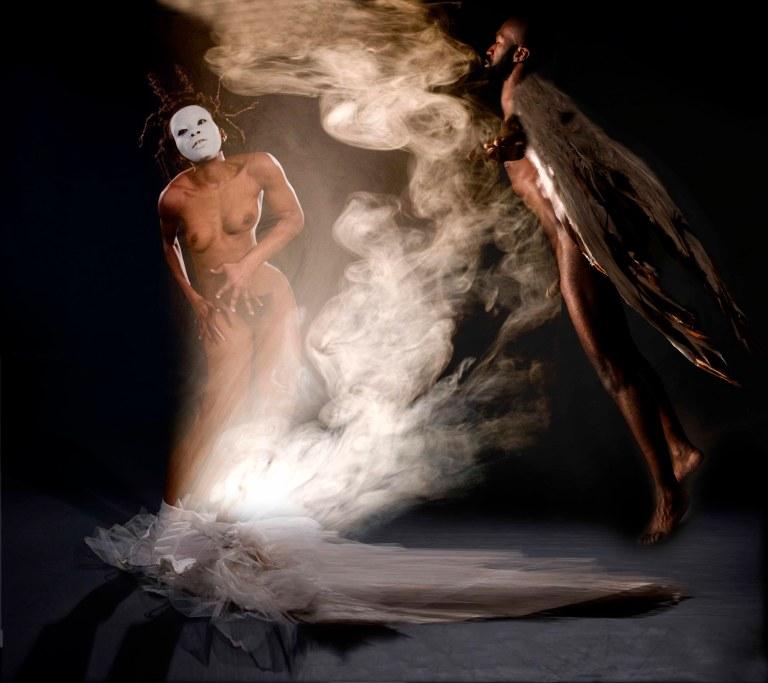 christelle ange noir