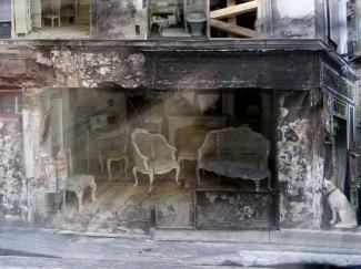 maison brulée