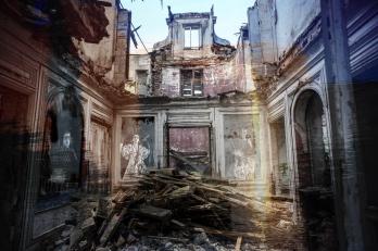 Maison demolie