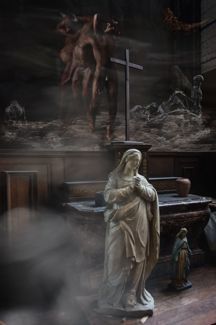 musée satan vierge Marie