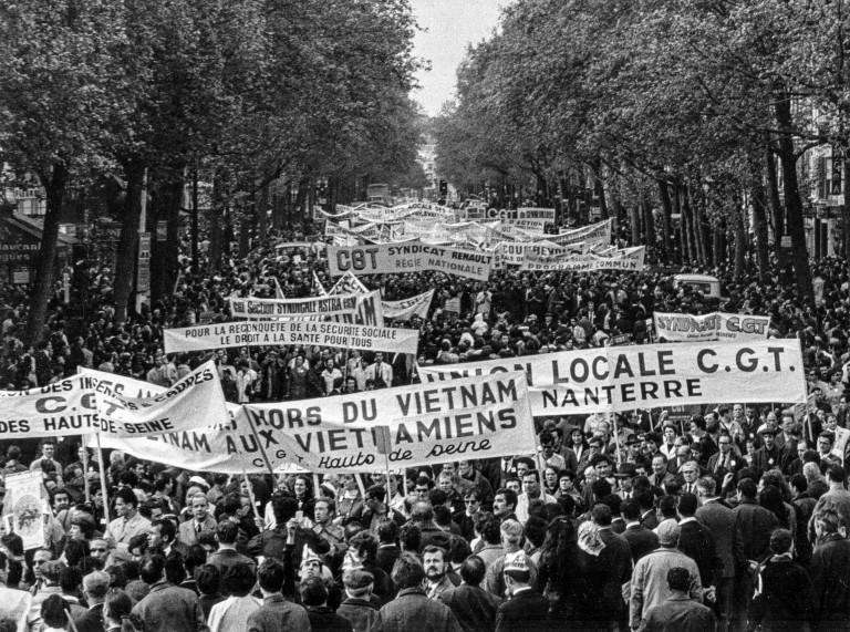 Manif du 1er mai 1968