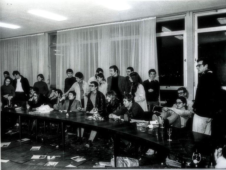 22 mars 68 à Nanterre