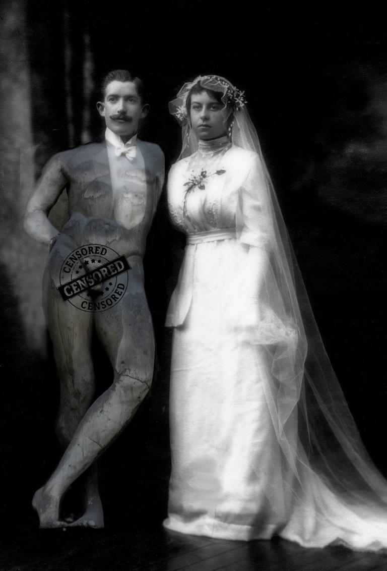 mariage 1900 censuré
