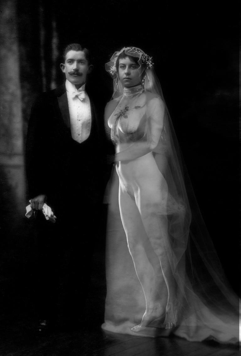 mariage 1900 nus