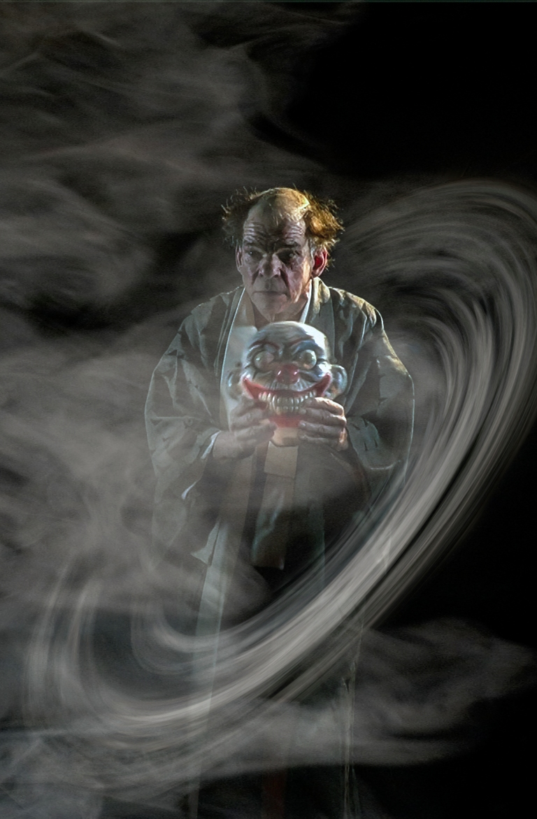 Denis Lavant Artaud 74 fumée