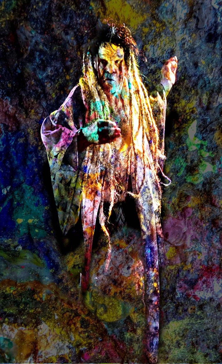 Denis Lavant Artaud 87 couleurs