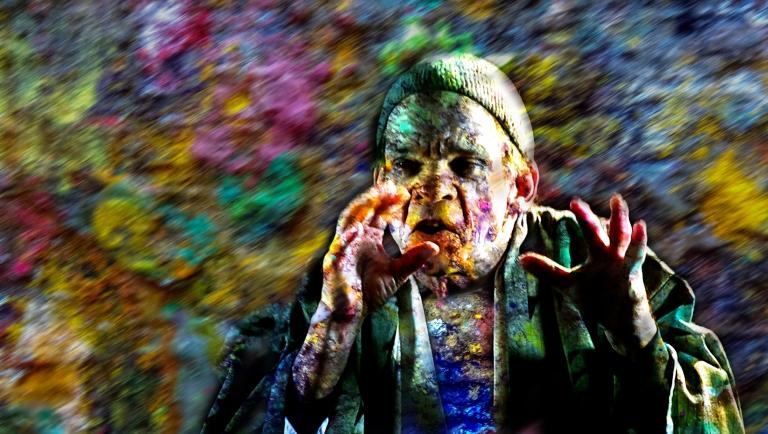 Denis Lavant Artaud 99 couleurs